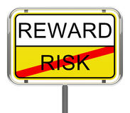 Risk and reward Royalty Free Stock Image
