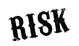 Risk rubber stamp Stock Images