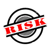 Risk rubber stamp Stock Image