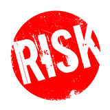 Risk rubber stamp Royalty Free Stock Photos
