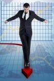 Risk statistics Royalty Free Stock Photo
