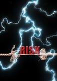 Risk stock photo