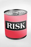Risk word Royalty Free Stock Photo