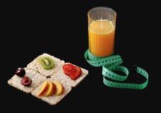 Riskakor med frukt Royaltyfri Foto