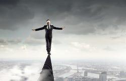 Riskant und entschlossen es tun Stockbilder