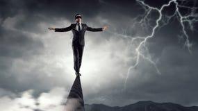 Riskant und entschlossen es tun Stockfotos