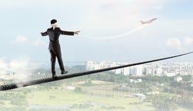 Riskant und entschlossen es tun Lizenzfreie Stockbilder
