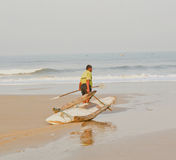 Riskieren in Meere Lizenzfreies Stockbild