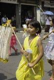 Riskransar festival, THAILAND Arkivfoto
