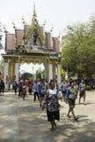 Riskransar festival, THAILAND Royaltyfri Bild