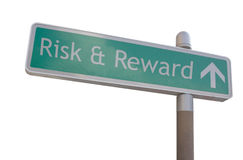 Risks & Rewards Sign Royalty Free Stock Images