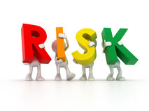 Risks team Stock Photo