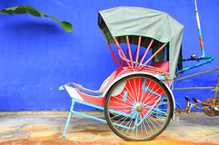 Riskshaw Stock Image