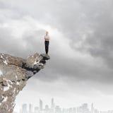 Risky business Stock Image
