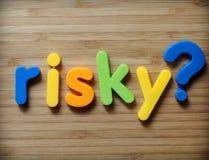 Risky choice concept stock photography