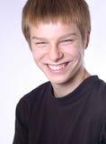 Riso adolescente Foto de Stock Royalty Free