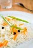 Riso basmati con la carota, la erba cipollina ed il peperone dolce fotografie stock libere da diritti