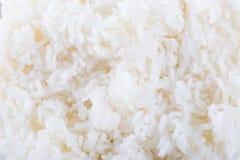 Riso bianco cucinato fotografie stock libere da diritti