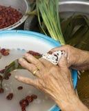 Riso-budino del cinese tradizionale Fotografia Stock