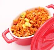 Riso con cereale Fotografia Stock