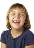 Riso da menina Fotografia de Stock