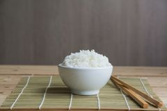 riso del gelsomino fotografie stock