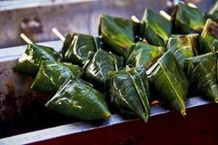 Riso del pulut del dolce di Ramadan Bazaar fotografia stock