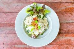 riso del risotto con bacon immagine stock libera da diritti