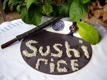 Riso di sushi fotografia stock libera da diritti