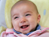 Riso do bebé Fotos de Stock
