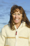 Riso feliz da mulher Fotografia de Stock Royalty Free