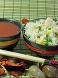 Riso fritto cinese Fotografie Stock