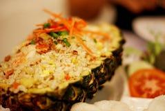 Riso fritto dell'ananas Fotografia Stock