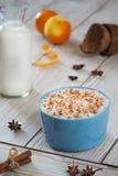 Riso, grano, cocos del latte del grano saraceno Immagine Stock Libera da Diritti