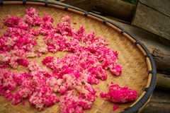 Riso rosa cinese immagine stock