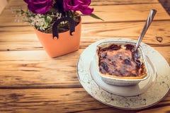 Riso tradizionale turco, budini del latte fotografie stock