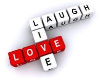 Riso vivo do amor Fotografia de Stock