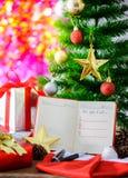 Risoluzione del nuovo anno, lista vuota Fotografia Stock Libera da Diritti