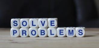 Risolva i problemi Fotografia Stock Libera da Diritti