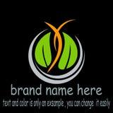 Risorsa creativa del grafico di logo della natura di progettazione illustrazione di stock