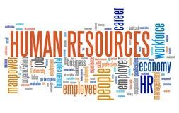Risorse umane Fotografie Stock