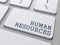Risorse umane. Concetto di affari. Immagini Stock Libere da Diritti