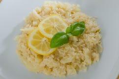 Risoto do limão Foto de Stock Royalty Free