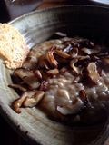 risotto гриба Стоковое Изображение