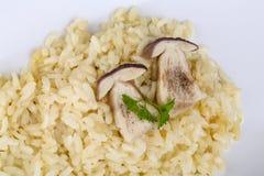 risotto гриба Стоковые Фото