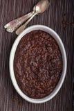 Risotto al forno del cioccolato Immagini Stock