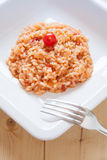 Risotto al pomodoro Royalty Free Stock Photography