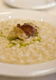Risotto al prosecco Royalty Free Stock Photography