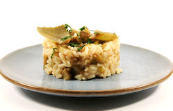 Risotto with artichokes Stock Image