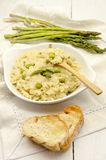 Risotto asparagus Stock Images
